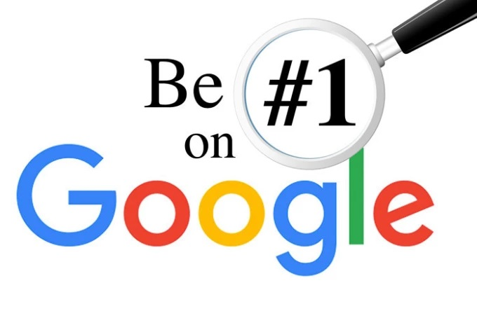 1st page Google ranking
